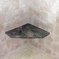 Stone Bench in Shower