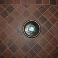 Fantech Vent in Dark Tile