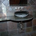 Bathroom 2 Stone Sink