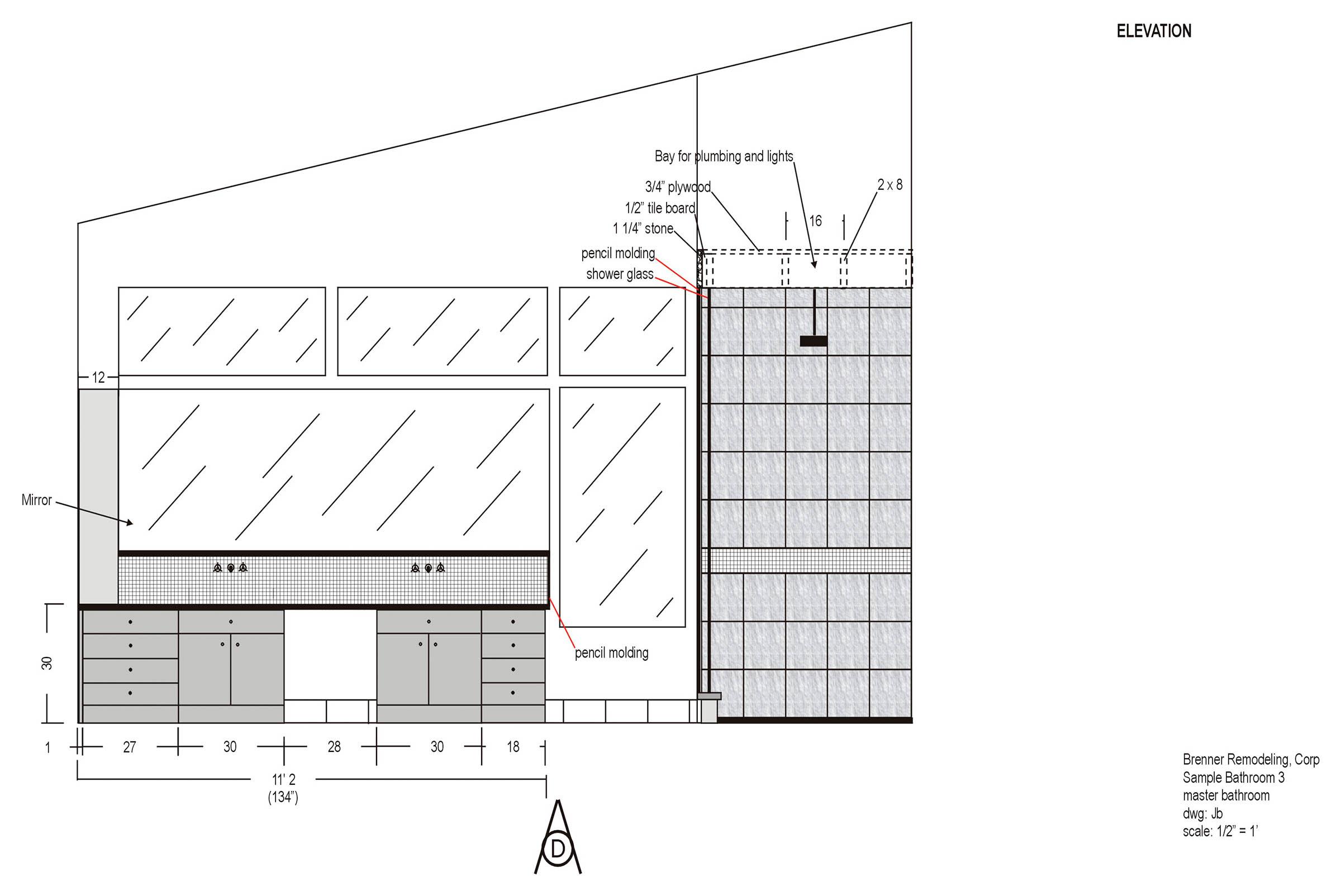 Brenner Remodeling Design Services Bathroom