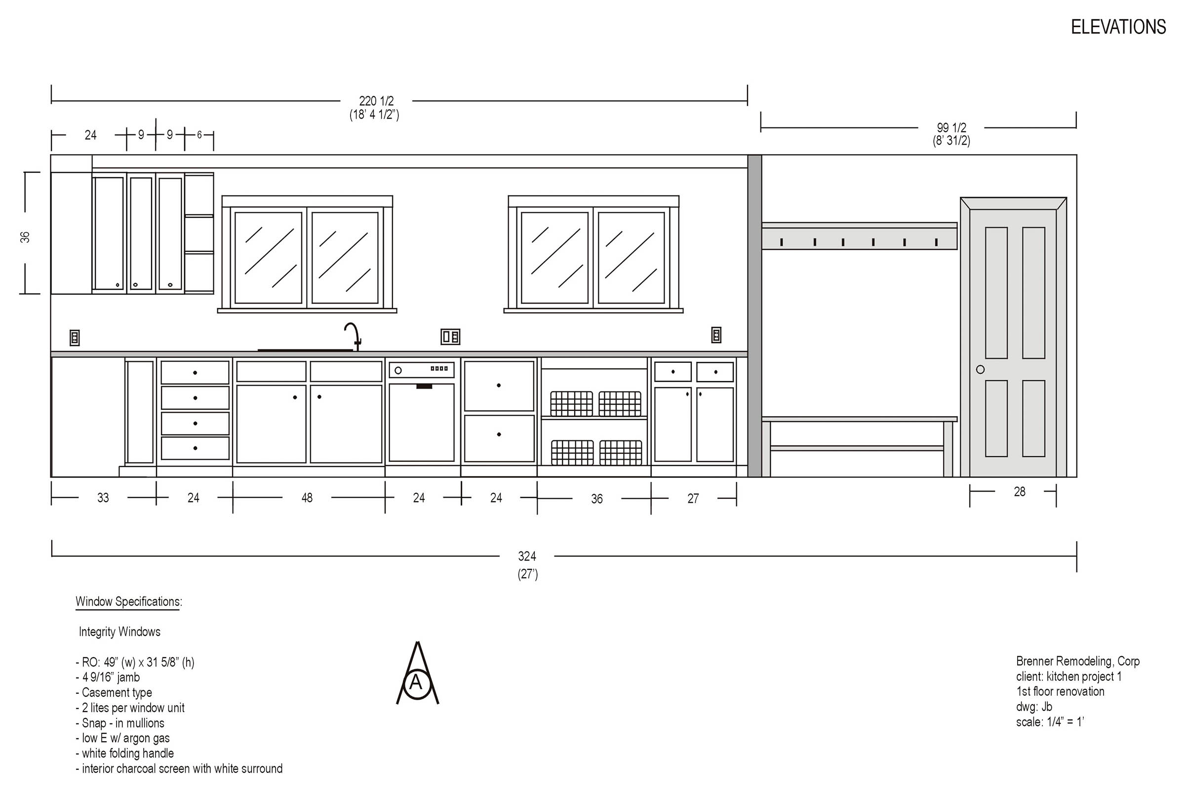Kitchen Plan Elevation : Delighful kitchen design elevations elevation inside in