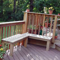 Two Level Deck from first level