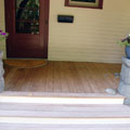 Porch Steps and Surface