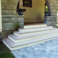 Porch Steps and Walkway